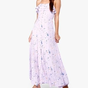 Forever 21 Size S Flowered Maxi Dress